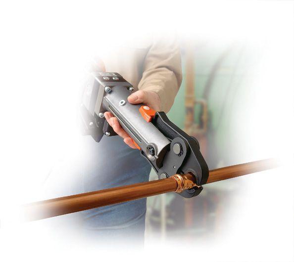 Электрогидравлический пресс инструмент для обжима наконечников